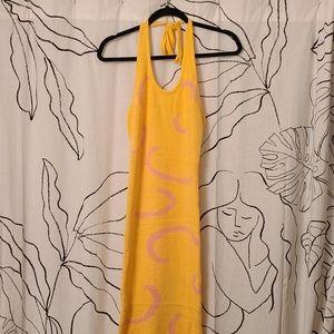 House of Sunny Halter Sweater Dress